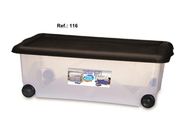 Org. Translúcida 30L com Rodas - 5
