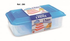 REF 260 KIT 3 POTES ( 650 ML - 1,1L - 1,8L ) - Copia