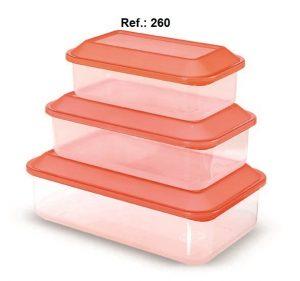REF. 260 - POTES - 650ML, 1.1L , 1.8L