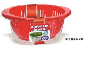 Saladeira Vermelho