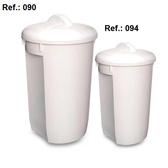 LIXEIRA 60L-32L COM TAMPA REF 090 (60L) e 094 (32L)
