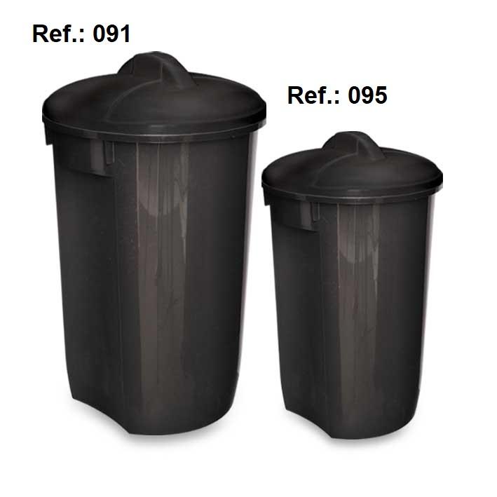 LIXEIRA 60L-32L COM TAMPA REF 091 (60L) e 095 (32L)