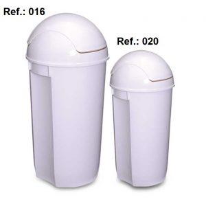 LIXEIRA 60L-32L TAMPA OSCILANTE REF 016 (60L) e 020 (32L)
