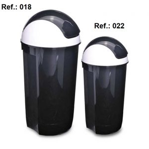 LIXEIRA 60L-32L TAMPA OSCILANTE REF 018 (60L) e 022 (32L)