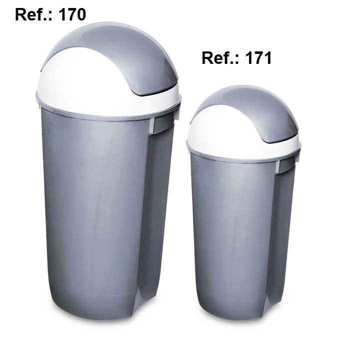 LIXEIRA 60L-32L TAMPA OSCILANTE REF 170 (60L) e 171 (32L)
