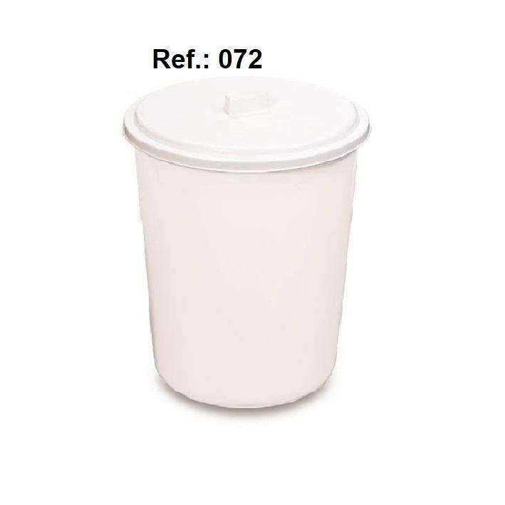 LIXEIRA 7L COM TAMPA REF 072