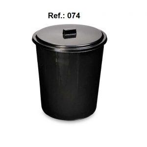 LIXEIRA 7L COM TAMPA REF 074